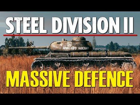 MASSIVE DEFENCE! Steel Division 2 BETA Breakthrough Gameplay (Lyakhavichy, 4v4)