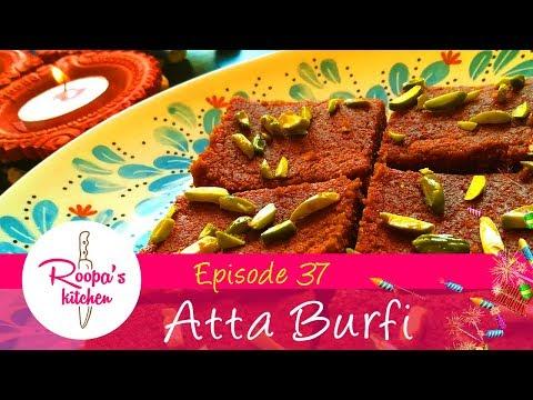 Atta Burfi / Wheat Burfi / Diwali Sweets