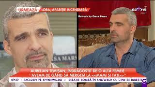 """Aurelian Temişan, îndrăgostit de o altă femeie: """"I-a spus că am căutat-o 20 de ani"""""""