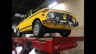 1972 BMW 2002 Roundie | Undercarriage Detailed Review