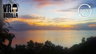 Koh Phangan Time-Lapse Of Setting Sun (360 VR Video)