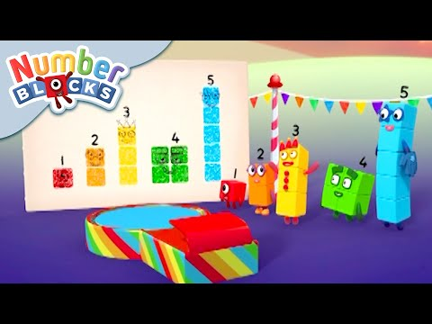 Numberblocks - Painting for Fun! | Learn to Count