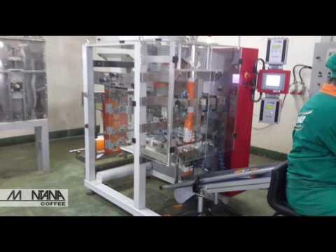 Empacotadora Vertical   MK200   Montana Coffee   Cliente: Barão de Cotegipe