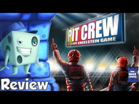 Pit Crew Review - with Tom Vasel