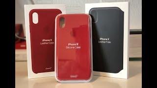 Alle Apple iPhone X Hüllen - Cases ausgepackt und ausprobiert