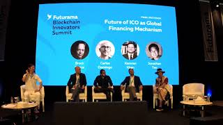 Future Of ICO As Global Financing Mechanism - Futurama Blockchain Innovators Summit Dubai 2018