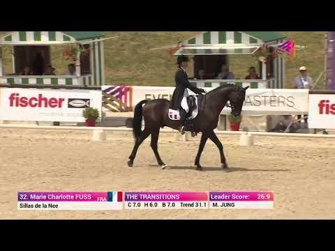 Marie Charlotte Fuss and Sillas de la Nee Dressage Test Jardy ERM Leg 5 2018