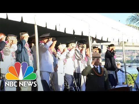 Watch: Event Commemorates The 78th anniversary Of The Attack On Pearl Harbor | NBC News