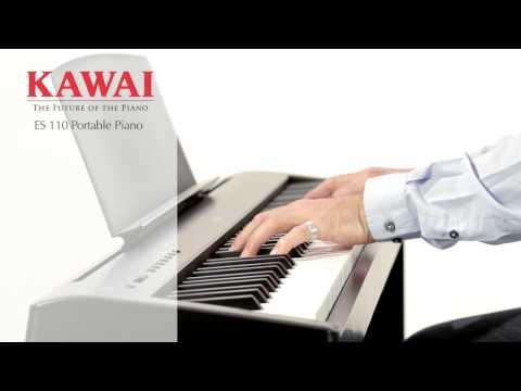 KAWAI ES-110 B Přenosné digitální stage piano