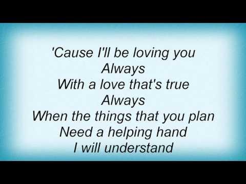 17906 Phil Collins - Always Lyrics