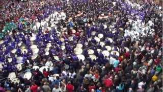 preview picture of video 'Rompida de la Hora de l'Alcora - Semana Santa 2013'
