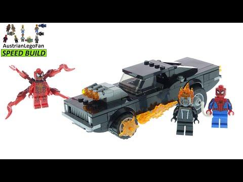 Vidéo LEGO Marvel 76173 : Spider-Man et Ghost Rider contre Carnage