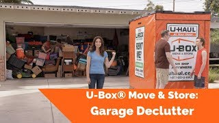 U-Box® Move & Store: Garage Declutter