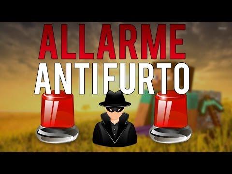 ALLARME ANTIFURTO DI SICUREZZA PER LA CASA - Minecraft 1.9 Tutorial ITA