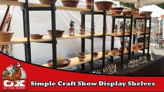 Making A Simple Craft Show Display
