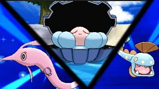 Clamperl  - (Pokémon) - How & Where to catch/get: Evolve Clamperl into Huntail & Gorebyss in Pokemon X and Y