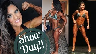 SHOW DAY | MY FIRST FIGURE COMPETITION