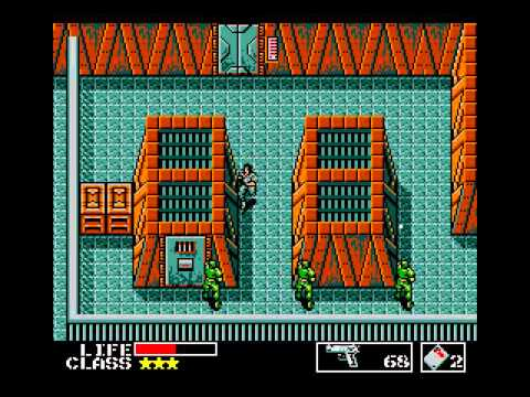 [TAS] MSX Metal Gear by dunnius in 26:28,05