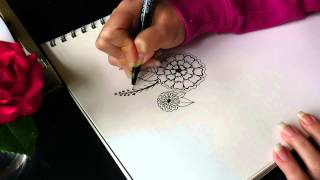 Doodle Flowers With Me