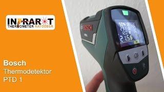 Bosch Thermodetektor PTD 1 | Infrarot Thermometer Test