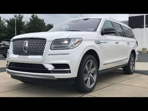 The New Lincoln Navigator is Basically a Luxury Yacht on Wheels