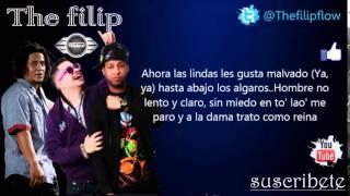 Jowell y Randy Ft. Tego Calderon - Las Nenas Lindas (Letra) (Oficial Remix)