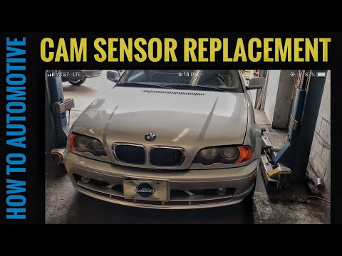 E46 crank position sensor replacement - смотреть онлайн на