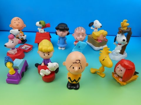 Download 2015 THE PEANUTS MOVIE SET OF 12 McDONALD'S HAPPY MEAL KIDS TOYS VIDEO REVIEW HD Mp4 3GP Video and MP3