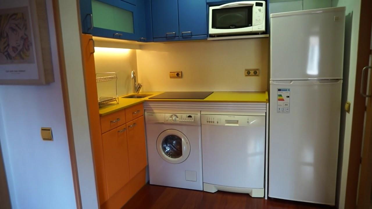 Stylish studio apartment for rent in Gràcia