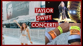 TAYLOR SWIFT REPUTATION CONCERT VLOG IN THE SNAKE PIT!