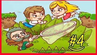ПРИКЛЮЧЕНИЯ ДЖИМА И МЭРИ 2 #4 Убегаем от злого ВОЛКА и ПЧЕЛ развлекательное видео для детей #KGSTV