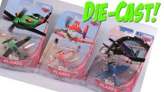 Disney Planes Toys Dusty Skipper and Ripslinger Review