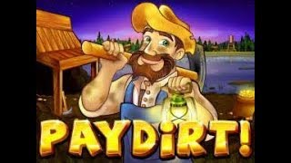 Big Win On PayDirt (RTG Slot)