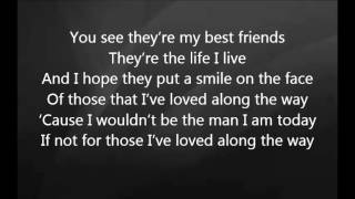 Eric Church - Those I've Loved with Lyrics