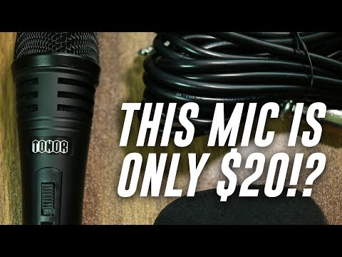 Tonor Pro Vocal Dynamic Microphone Review / Test