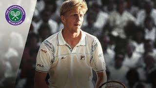 Boris Becker vs Ivan Lendl: Wimbledon semi-final, 1989 (Extended Highlights)