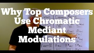 Why Top Composers Use Chromatic Mediant Modulations