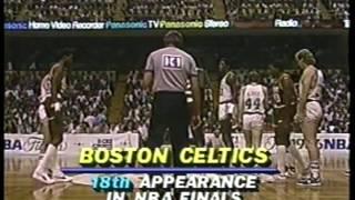 NBA - 1986 Finals - Boston Celtics VS Houston Rockets - Game 1 imasportsphile.com