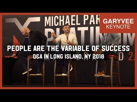 People Are the Variable of Success | Q&A in Long Island New York 2018