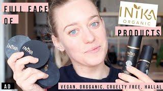 AD One Makeup Brand Tutorial With Inika | best organic makeup 2019, 100 pure makeup | Actually Anna