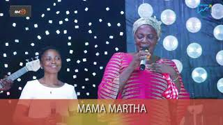 WOW! MAMA MARTHA IS BACK....................