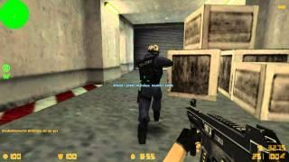 The TF2 Mercs play Counter-Strike 1.6