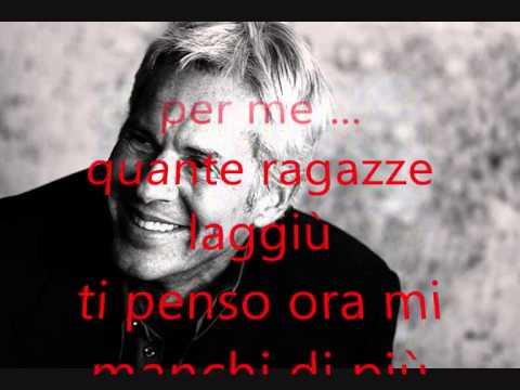 , title : 'Una favola blu-Claudio Baglioni-Testo'