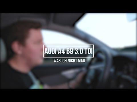 Audi A4 B9 Test | Diese 4 Dinge gehen gar nicht!