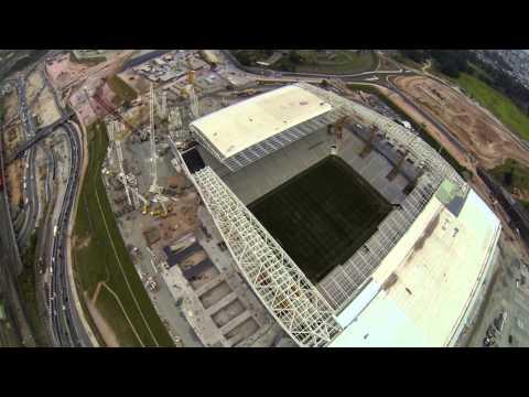Voo na Arena Corinthians