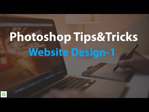 Photoshop tips and tricks | Website design and layout.