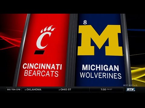 Cincinnati at Michigan - Football Highlights