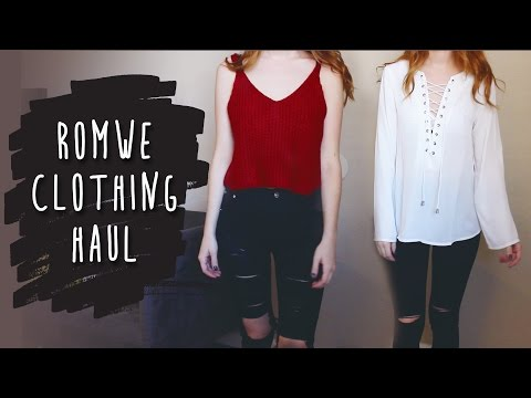 Romwe Try On Haul & Review