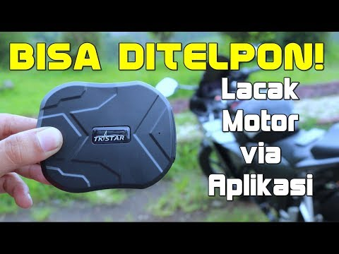 GPS Motor Anti Maling Nan CANGGIH? TKSTAR GPS Tacker TK905 Review Indonesia