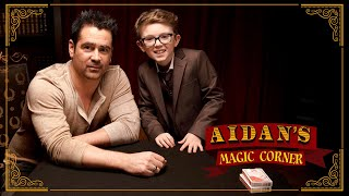 'Aidan's Magic Corner': Colin Farrell and Fellow Irishman Aidan McCann Make Magic Happen